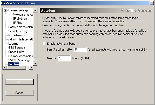 Filezilla FTP Server