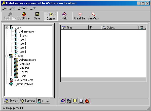 Пользователи и группы